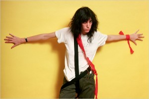 Patti Smith wouldn't be caught dead in a sundress.