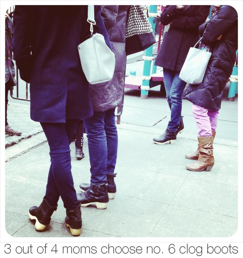 no. 6 clog boots