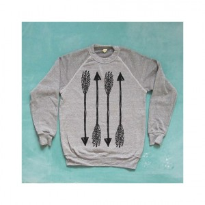 Straight Shooter sweatshirt, from KinShipGoods.com, $50.