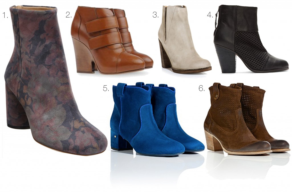 ankle boot montage