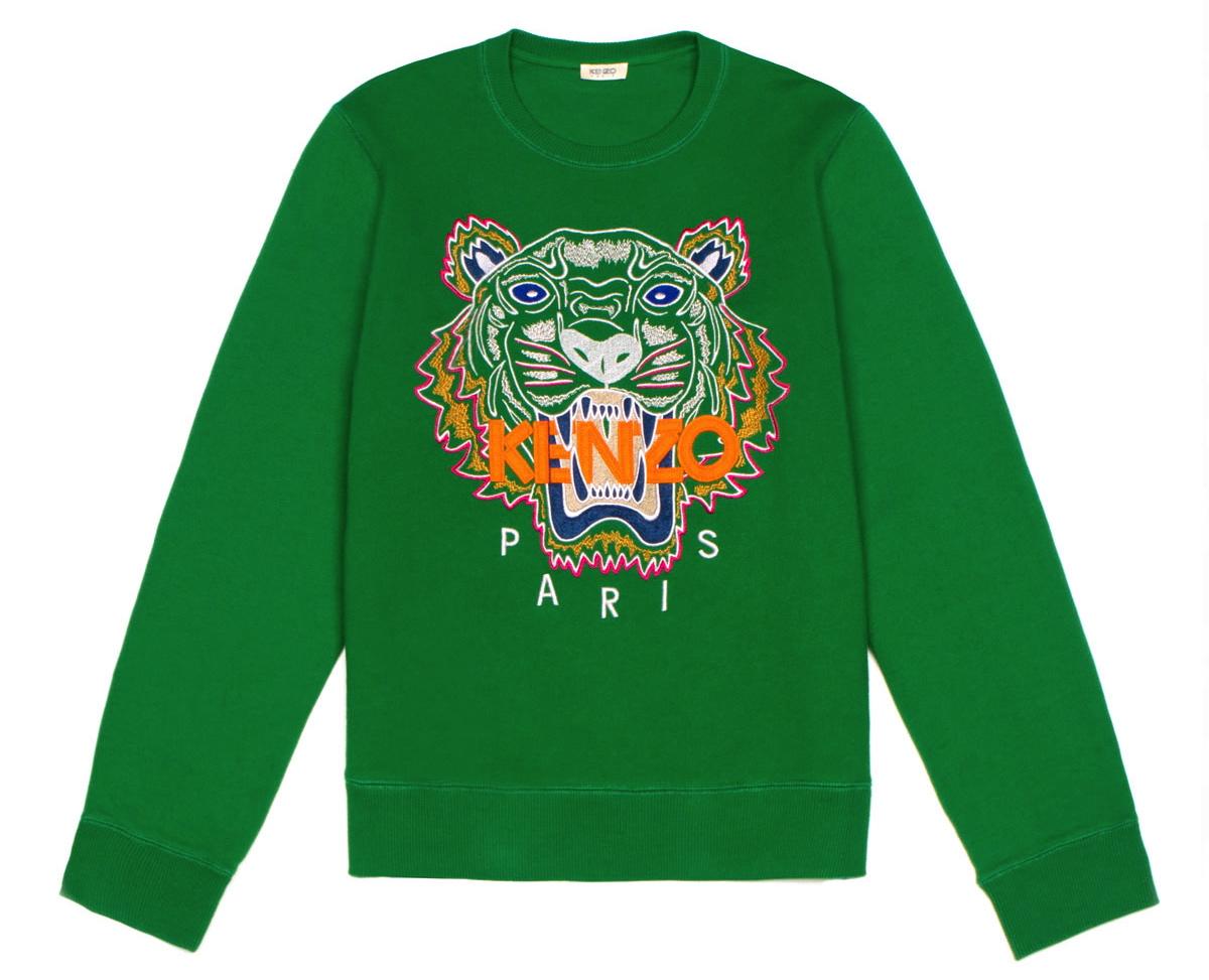 kenzo tiger sweatshirt, opening ceremony