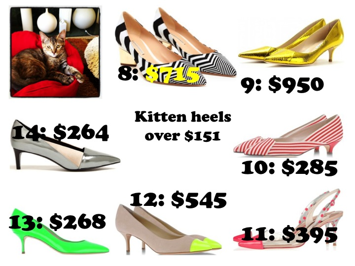 kitten heels over $150 blankstareblink.com