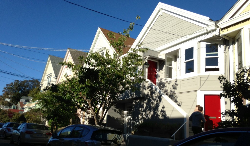 Elsie Street, Bernal Heights, San Francisco.
