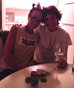Me + Suzy, Poker Night. Top: Acne Studios. Necklace: Lady Grey.