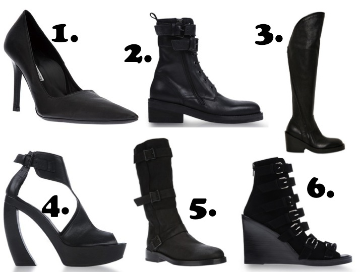 Ann Demeulemeester shoes blankstareblink.com