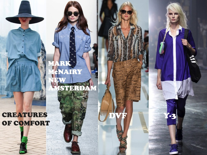 NYFW DVF, Y-3, Mark McNairy New Amsterdam, Creatures of Comfort