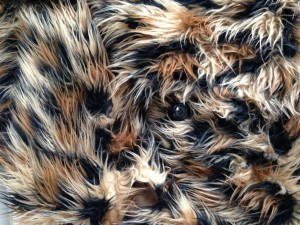 Junya Watanabe faux fur, coming soon to a neighborhood near you.