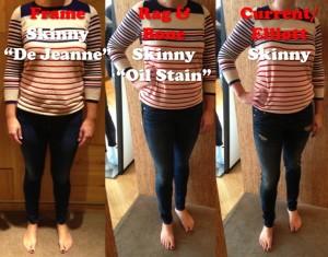 skinny jeans rag&bone, frame, current-elliott