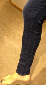 w3 jeans seam close-up