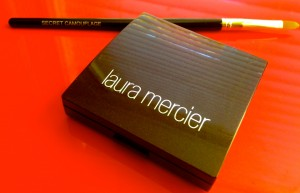 My new secret weapon: Laura Mercier Secret Camouflage + brush.