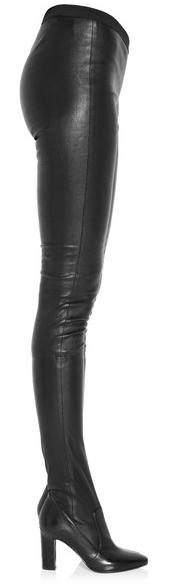"""Tamara Mellon """"Sweet Revenge"""" leather legging boots, Net-A-Porter."""