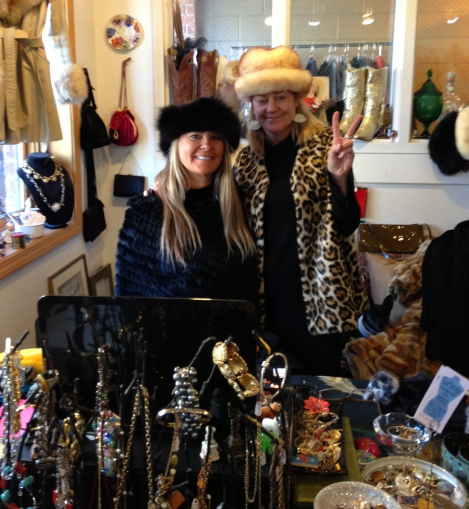 Kristen + Lois, from the Exchange Consignment, Park City.