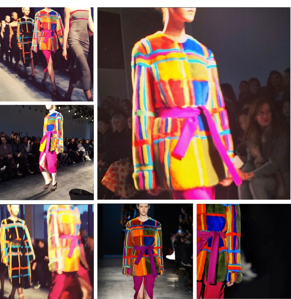 joseph altuzarra and his technicolor dream coat, blankstareblink.com