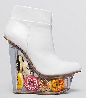 Jeffrey Campbell Icy Doughnuts Wedge boots, blankstareblink.com