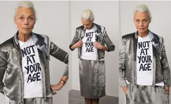 Fanny Karst's Old Ladies' Rebellion 'Not At Your Age' collection.