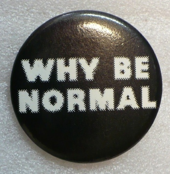 why be normal, blankstareblink.com