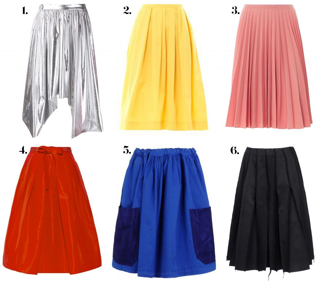 pleated skirts, blankstareblink.com