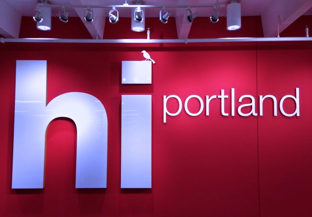 Target Portland sign blankstareblink