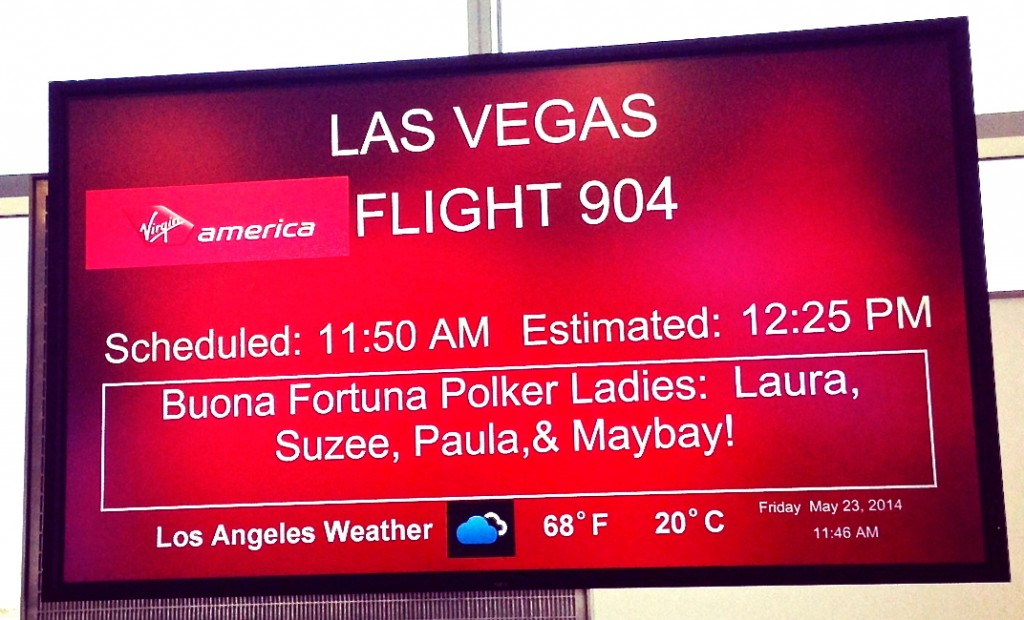 las vegas virgin america sign