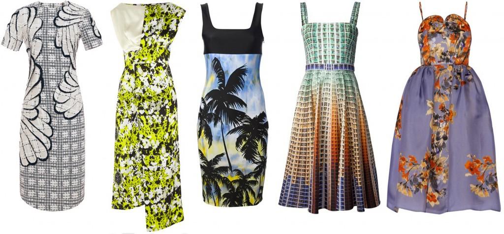 print dresses, blankstareblink.com