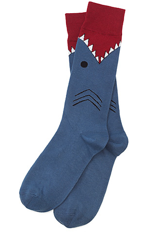 Shark Socks, UncommonGoods