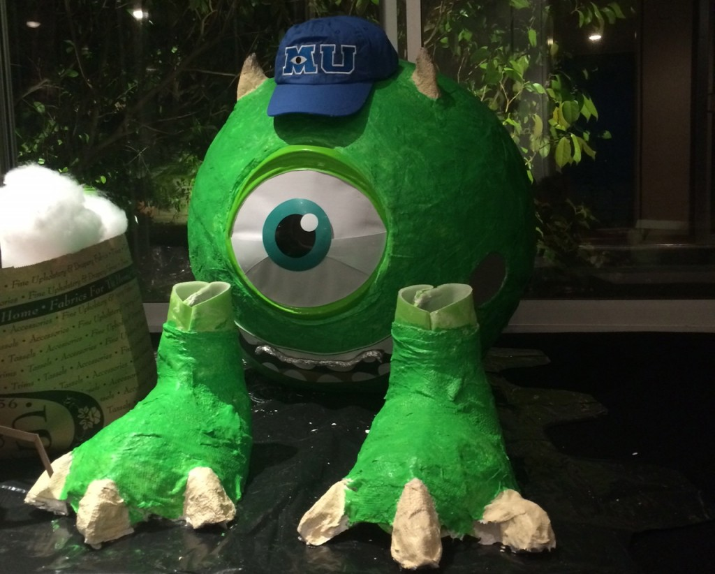 Mike Wazowski costume, by Jslow.