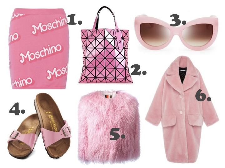 Pink fashions blankstareblink