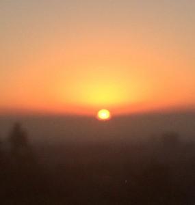 Sunrise at blankstareblink