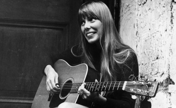 Joni MItchell. Photo via A Splash Of Vanilla.