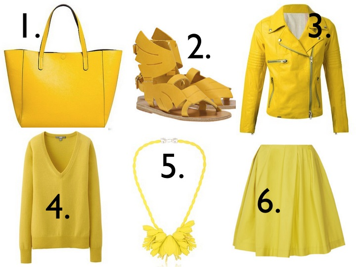 GOLDEN STATE WARRIORS INSPIRED YELLOW FASHION