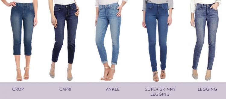 NYDJ jeans styles