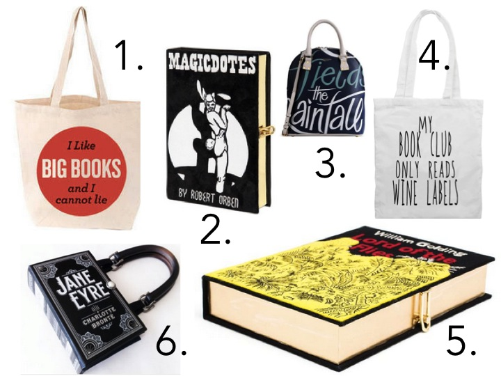 book club fashion book handbags