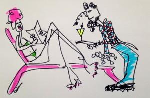 paula mangin millennial illustration medium