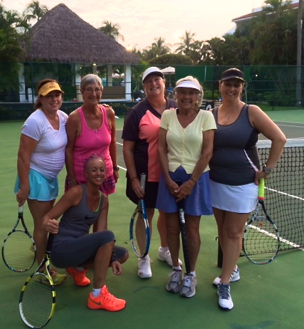 ILT tennis camp mexico paula mangin