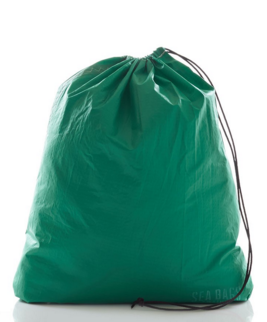 Spinnaker sea bag, bright green