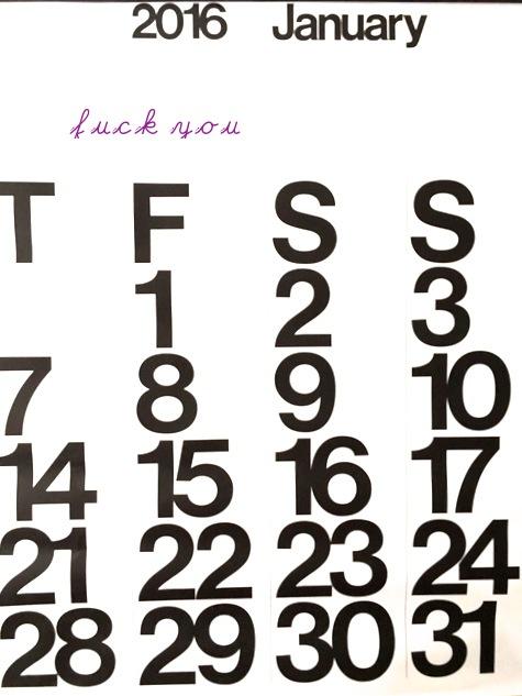 stendig calendar copy