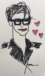 rachel maddow illustration