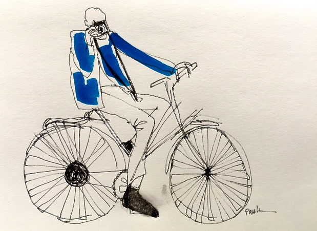 bill cunningham illustration paula mangin